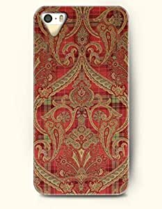 diy phone caseSevenArc Apple iPhone 5 5S Case Paisley Pattern ( indian Red Damask Pattern )diy phone case