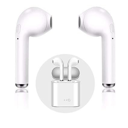 Auriculares inalámbrico, con micrófono Bluetooth Mini Auriculares In-Ear auriculares deportivos con 2 True