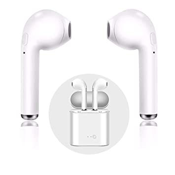 Auriculares Deportivos Bluetooth sin Hilos, Auriculares Auriculares Mini Auriculares Deportivos con 2 Auriculares inalámbrico Real
