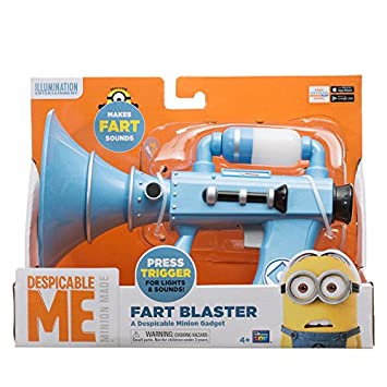 Fart Blaster Despicable Me Minions Toy Light Up with Sounds