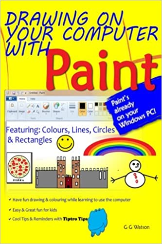 Drawing On Your Computer With Paint Colours Lines Circles And