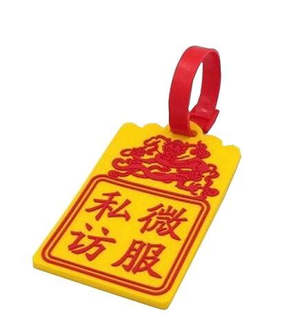 Etiqueta de equipaje de viaje Identificador de equipaje útil ...