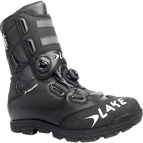 Lake MXZ400 Winter Cycling Boot - Men's Black/Silver, 42.0