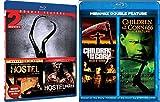 Horror Movie Night - Hostel (Director's Cut) / Hostel Part II / Children of the Corn 5: Fields of Terror / Children of the Corn 666: Isaac's Revenge 4-Movie Bundle
