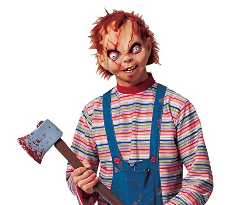 Costume Culture Men's Licensed Chucky Mask, Tan, One Size -