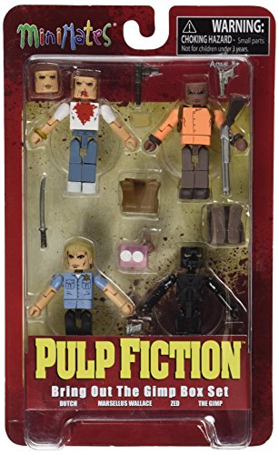"Diamond Select Toys Pulp Fiction: 20th Anniversary ""Bring Out the Gimp"" Minimates Action Figure Box Set"