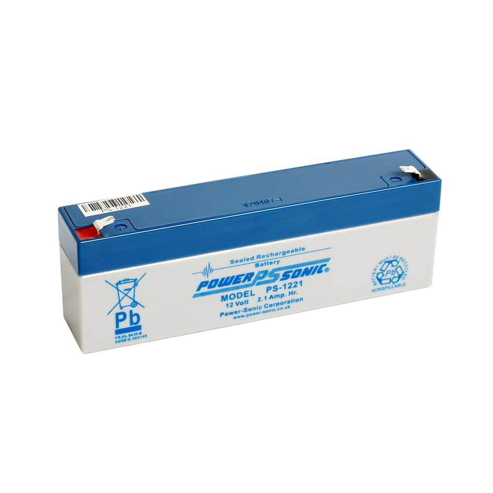 Power Sonic PS1221 12 V 2.1 Ah AGM batería - Apto para ...