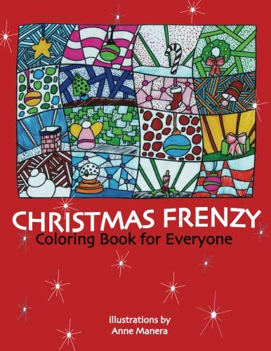Christmas Frenzy Coloring Book for Everyone