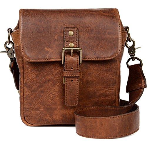 ONA - The Bond Street - Camera Messenger Bag - Antique Cognac Leather (ONA5-064LBR)