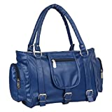 Marie Lorna Women's Stylish PU Hand Bag (Blue)-Item220