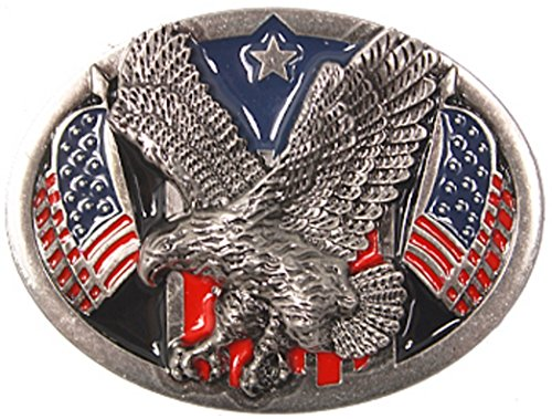 Rebel Flag Belt Buckle (Sun-Day