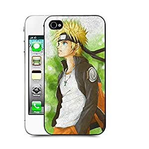 Case88 Designs Naruto Protective Snap-on Hard Back Case Cover for Apple Iphone 4 4s