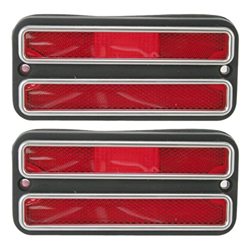 Rear Side Marker Parking Turn Signal Corner Lights Pair Set for Chevy GMC Truck
