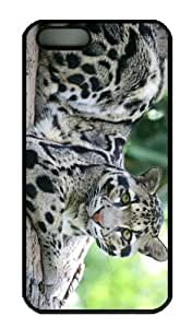 iPhone 5S Case - Customized Unique Design Panthera New Fashion PC Black Hard