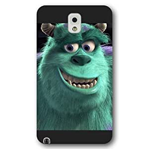 Customized Black Frosted Disney Cartoon Monsters University Samsung Galaxy Note 3 Case