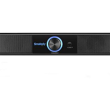 Vimbhzlvigour - Altavoz inalámbrico Bluetooth para Ordenador portátil o portátil, con Sonido HiFi LED de 10 W: Amazon.es: Electrónica