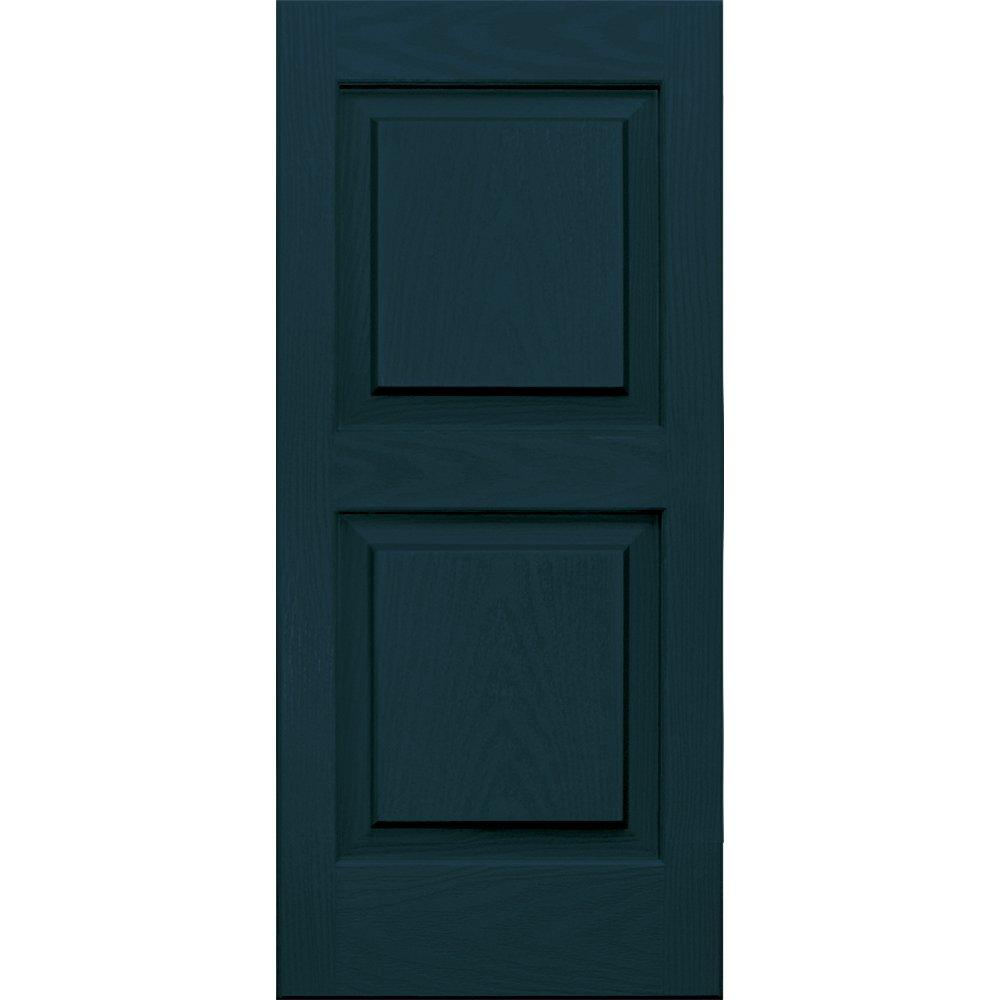 Vantage 3114031993 14X31 Raised Panel Shutter/Pair 993, Indigo Blue The TAPCO Group - DROPSHIP