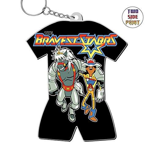 Keychain The Bravest Starrs Keyring World Cup Polo Shirt Logo Key Ring Key Fob Alloy Nice Custom Gift ()