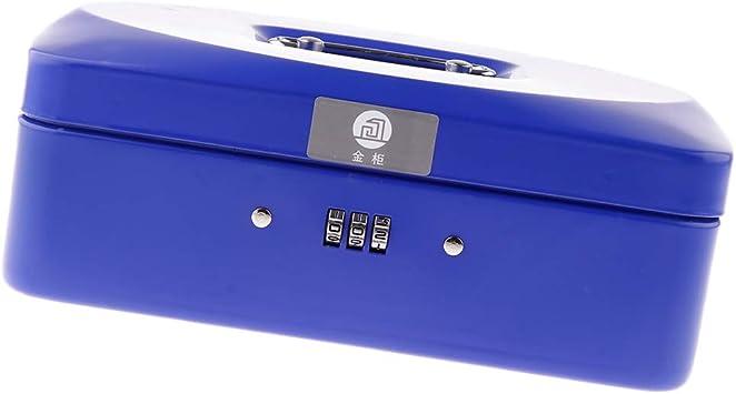 SM SunniMix - Caja de metal para guardar dinero (con candado ...