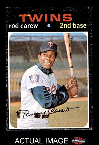 1971 Topps # 210 Rod Carew Minnesota Twins (Baseball Card) Dean