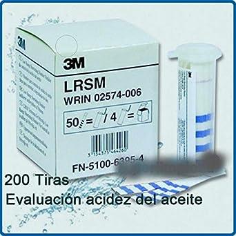3M España LRSM Tiras Reactivas, Set de 20: Amazon.es: Industria, empresas y ciencia