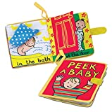 Jellycat Soft Cloth Books, Peek A Baby