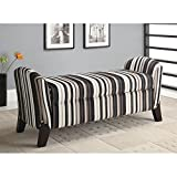 Coaster Home Furnishings Transitional Bench, Cappuccino/Multi-Color Review