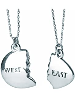 Amazon.com: East and West Egg The Great Gatsby Inspired Gold ...
