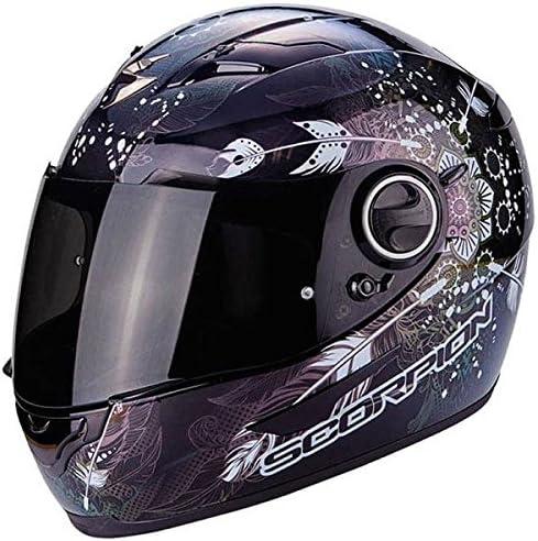 Sorpion Exo 490 Dream Black Chameleon Motorcycle Helmet Size S