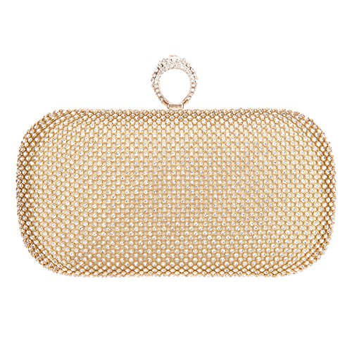 Fawziya Big Knuckles Clutch Purses For Women' s Clutches And Evening Bags-Big - Bag Mk Clear