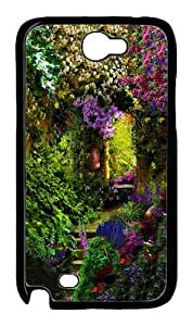 BustlIng Like KIng Polycarbonate Hard Case Cover for Samsung Galaxy Note 2/N7100 Black