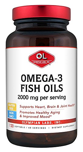 Olympian Labs Omega-3 Fish Oils, 2000mg per serving/60 servings