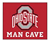 Ohio State University Man Cave Tailgater Rug 60''''x72''''