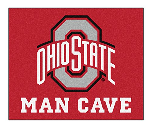Ohio State University Man Cave Tailgater Rug 60''''x72'''' by Fanmats