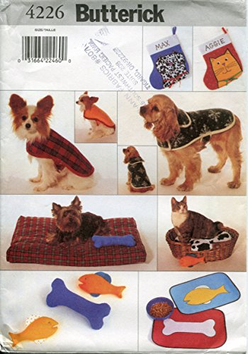 Toy Pattern - Butterick Pattern 4226 Pet Accessory Package