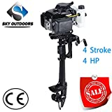 Sky Superior Engine Outboard Motor 4-strok Inflatable Fishing Boat