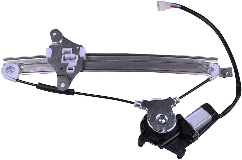 741-794 6984032090 Rear Left Driver Side Power Window Regulator with Motor Compatible for 1992-1996 Toyota Camry