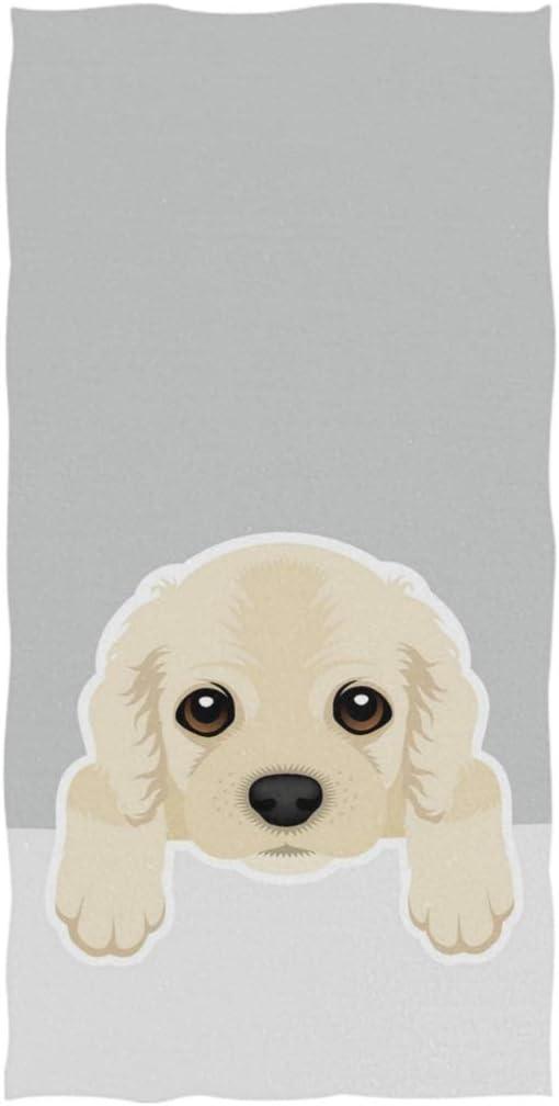 Amazon Com Naanle Cute Cartoon Cocker Spaniel Dog Print Soft