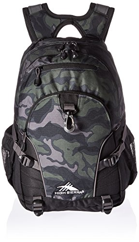 High Sierra Loop Backpack, Camo/Black/Slate