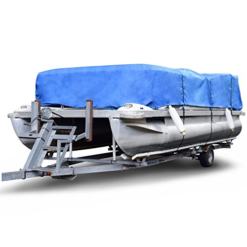 Budge P-1200-3 Blue Size PT4: 24' to 28' Long Boat Covers