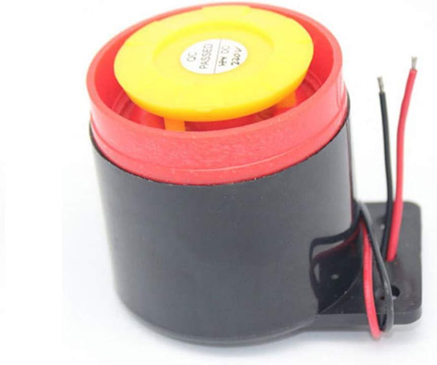 Buzzer /électronique 12 V Alarme 12 V 24 V 220 V Pi/ézo Actif Sonneur Summer Alarme sonore Dur/ée Son Longueur