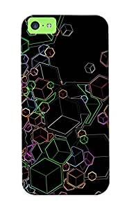 Charlesvenegas High Quality Shock Absorbing Case For Iphone 5c-cubes