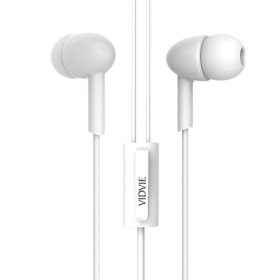 Vidvie HS615 Wired Headphone  White
