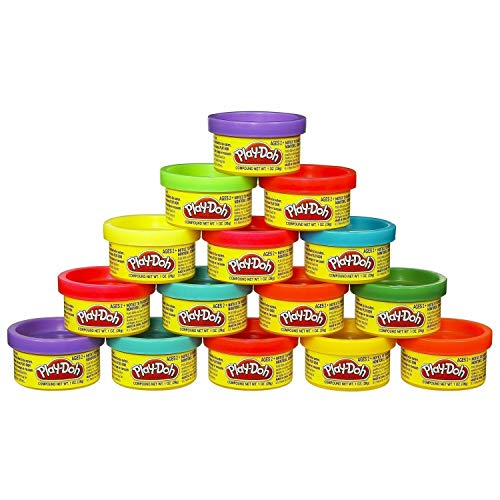 Play-Doh Modeling Compound 49-Pack Case of Colors, Non-Toxic, Assorted Colors, 1-Ounce Cans, Ages 2 and up