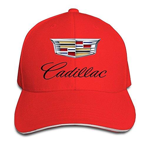 Chanel Cap (MaNeg Cadillac Logo Sandwich Peaked Hat & Cap)