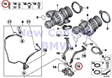BMW Genuine Engine Housing Exhaust Manifold Asa-Bolt M6X20-8.8-Zns3 X5 M X5 50iX X6 50iX X6 M Hybrid X6 750i 750iX ALPINA B7 ALPINA B7X 750i 750iX ALPINA B7 ALPINA B7X 750Li 750LiX ALPINA B7L ALPINA B