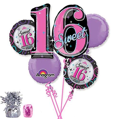 Costume Supercenter BBBK118 Sweet 16 Balloon Kit -Each -