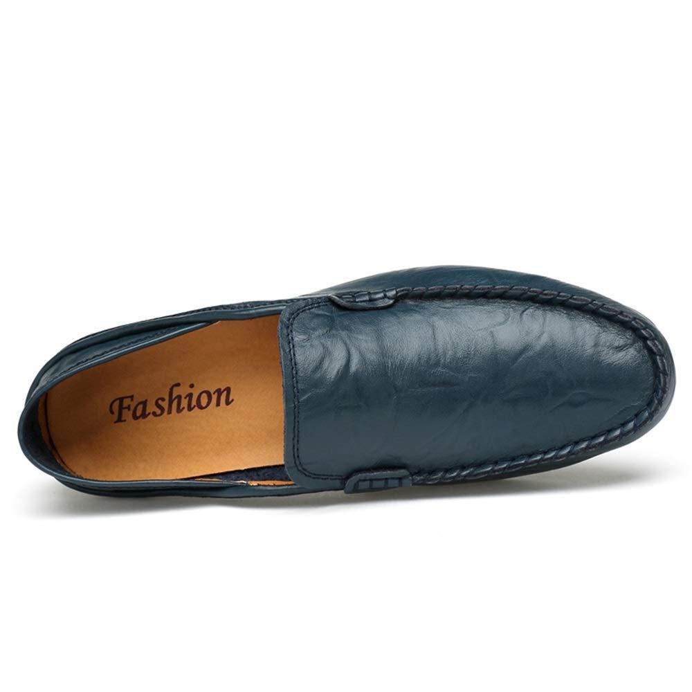 HYF Männer Oxford Oxford Oxford Schuhe Mode Fahren Müßiggänger Lässige Low-Top Slip On Einfarbig Stiefel Mokassins Lederschuhe Schuhe für Männer  b0aaee