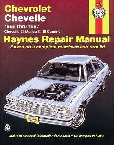 chevrolet chevelle 69 87 haynes repair manuals haynes rh amazon com haynes repair manual 1998 bmw 328i haynes repair manual 1999 porsche 911