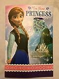 Disney Frozen Anna Birthday Card with Necklace